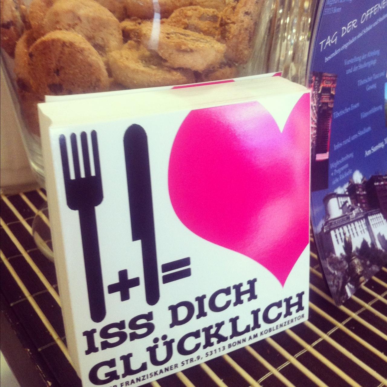 """Einmal glücklich essen? // Dann auf ins """"Iss Dich glücklich"""" in Bonn"""