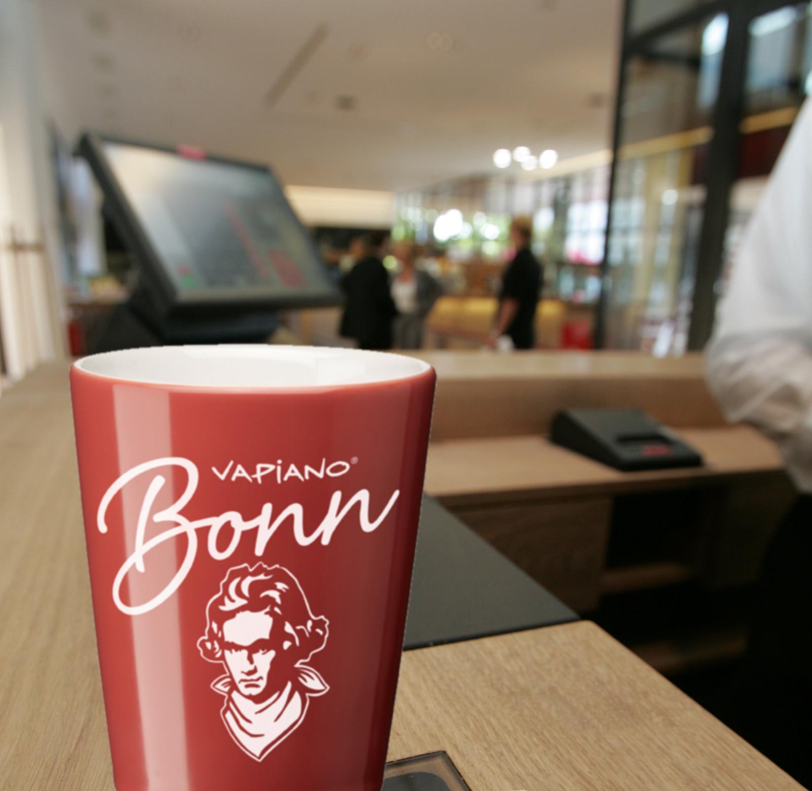 In jeder Stadt 'nen anderen – in Bonn ist's Beethoven // Die Vapiano Home-Cups