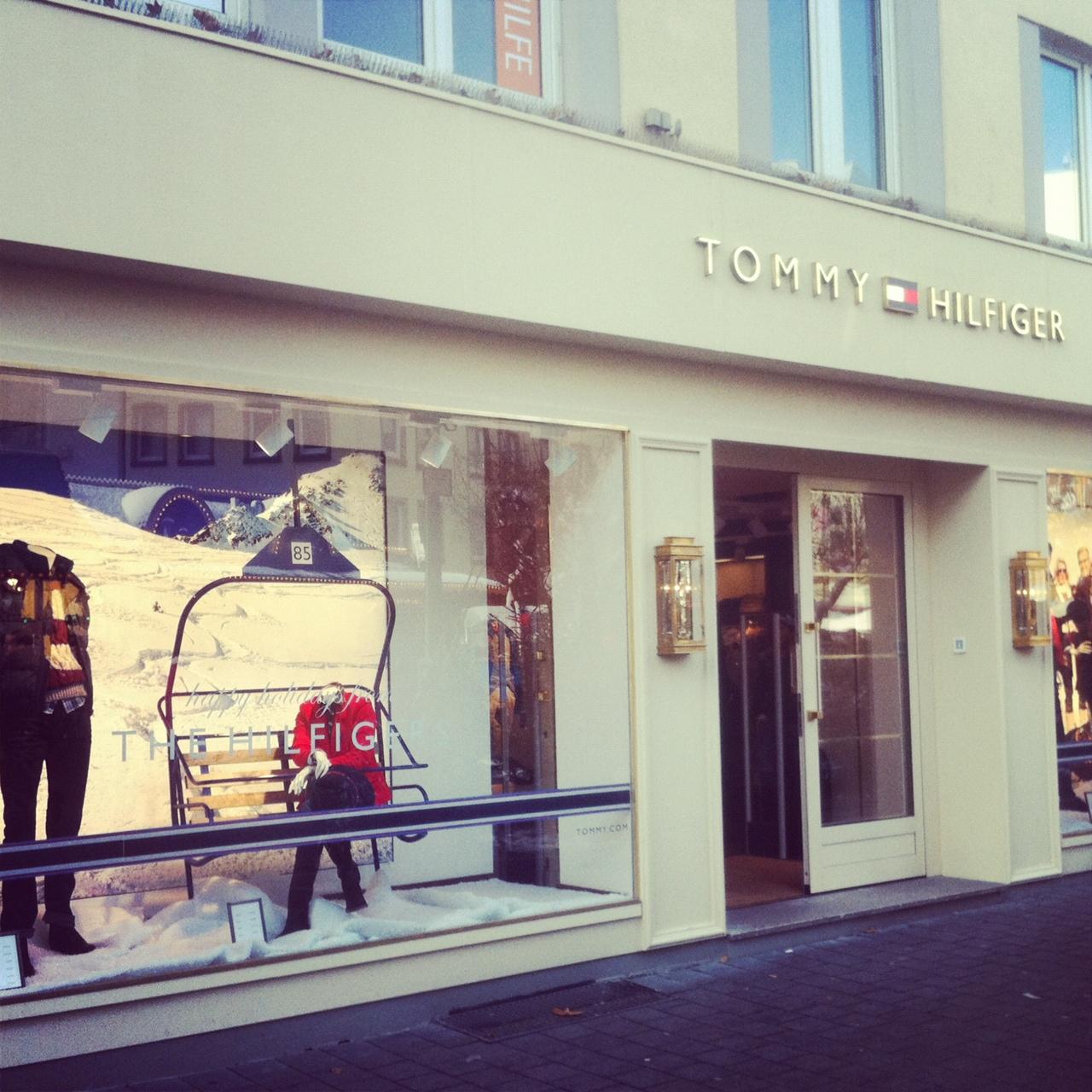 Tommy Hilfiger Store in Bonn // American Styles in der Vivatsgasse