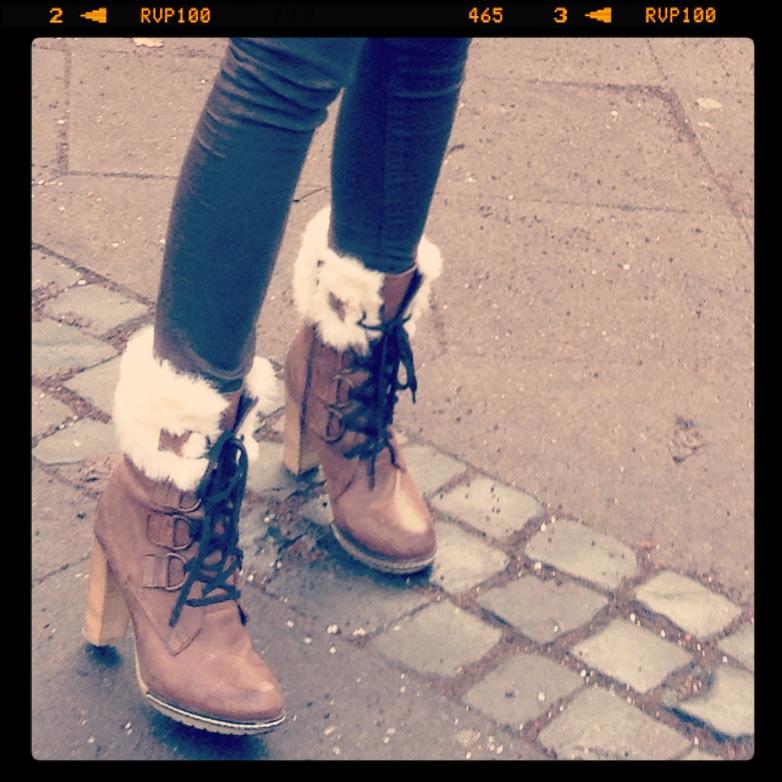 Shoes Shoes Shoes… // Winter Schnürstiefelette von Morgan de toi