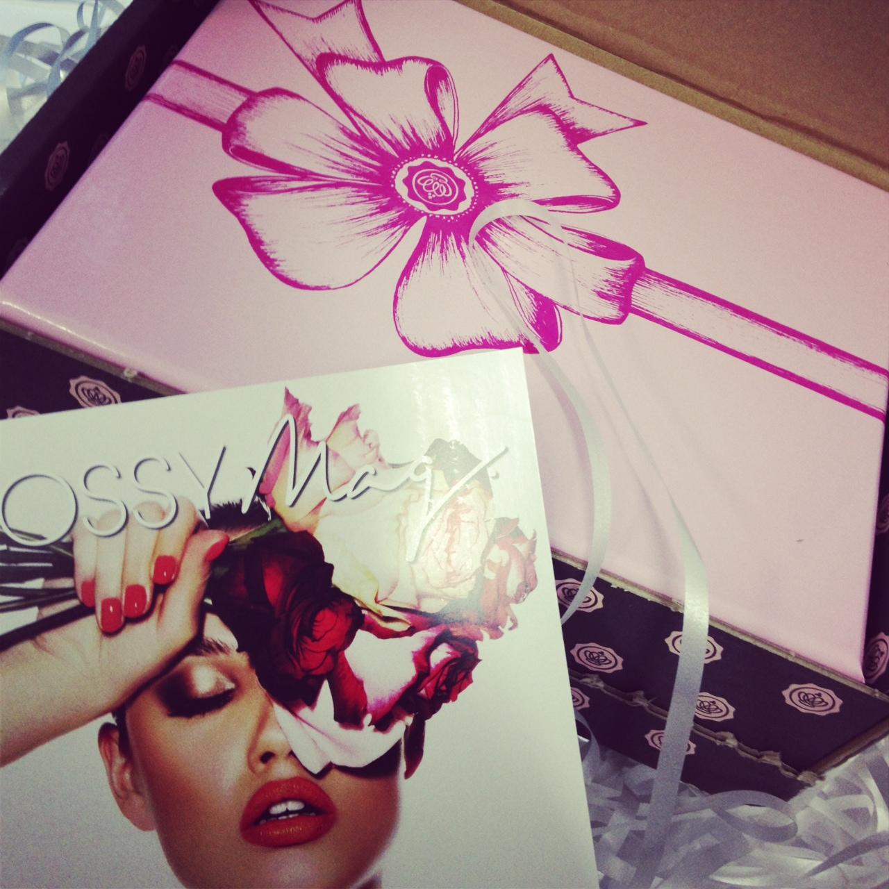 Nicht nur mein Valentino, auch Glossybox hat mir Valentinstags-Freude bereitet // Die pinke Glossybox zum Valentinstag