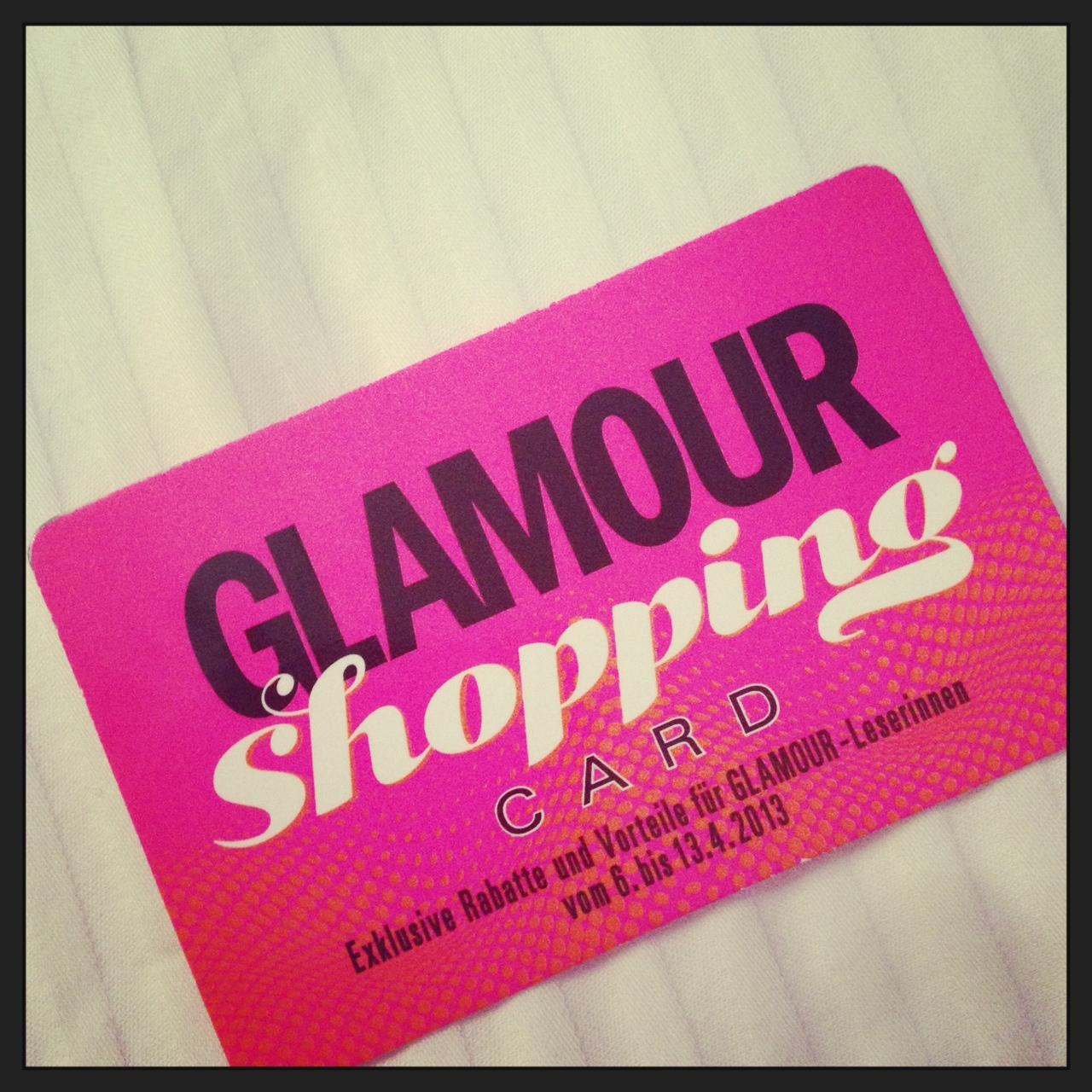 Glamour Shopping Week 2013 // kennt ihr's schon?