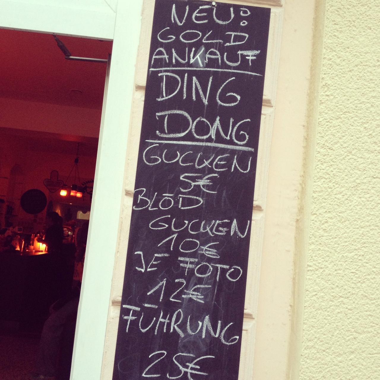 Von Autoscootern, der Sesamstraße und MilchShakes // Dirk Diggler Bar mit Spirit in Poppelsdorf