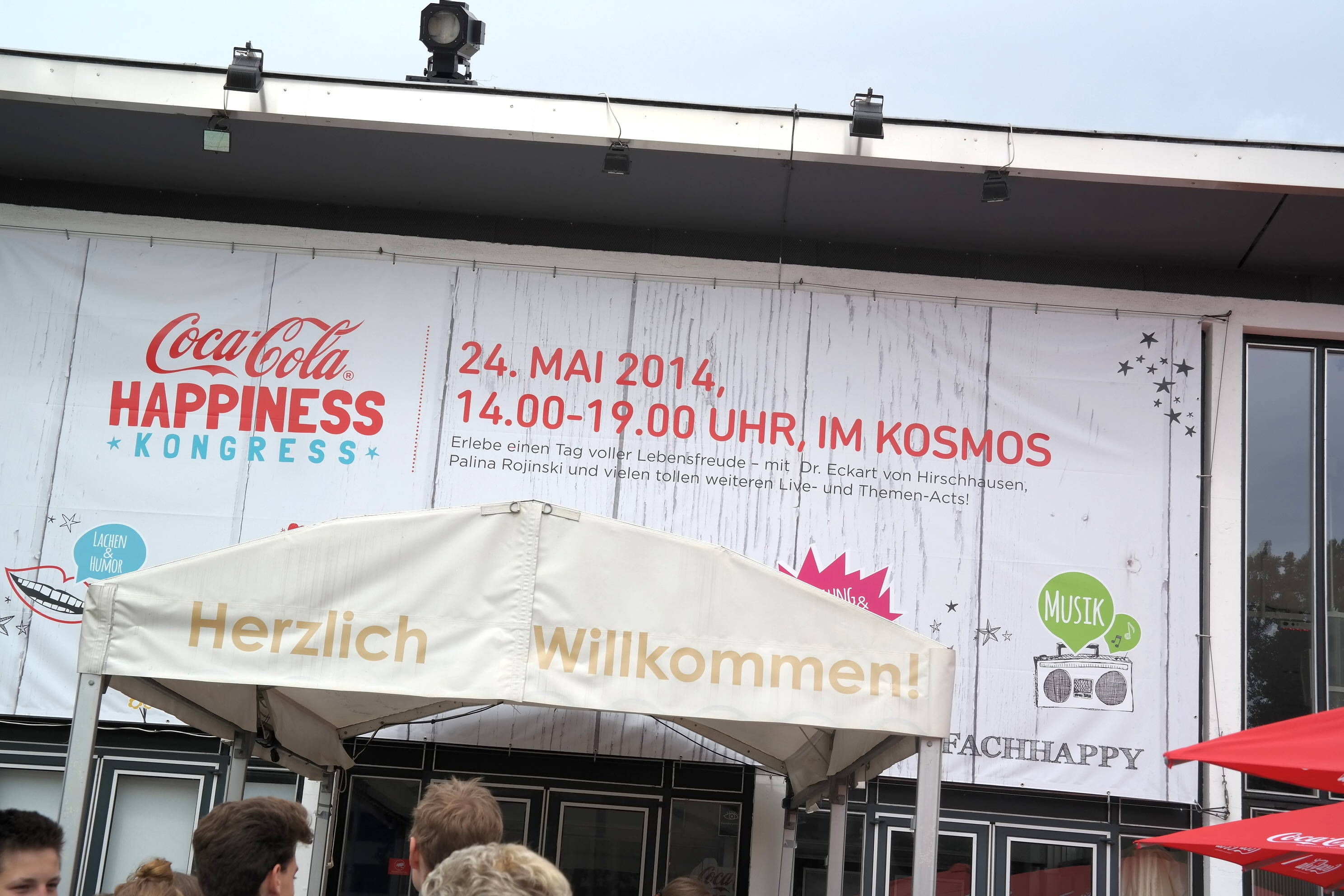 #EinfachHappy – der Happiness Kongress in Berlin & was uns happy macht