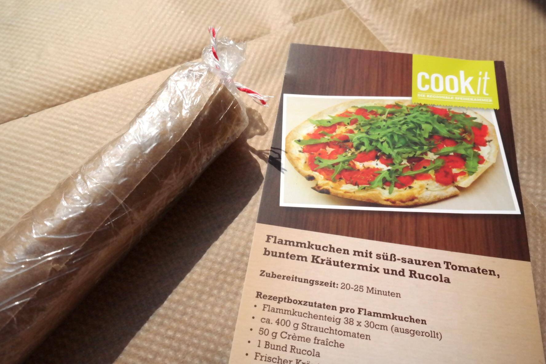 Mein erster *fast* homemade Flammkuchen // Von Cookit vom Markplatz in Bonn #nomnom