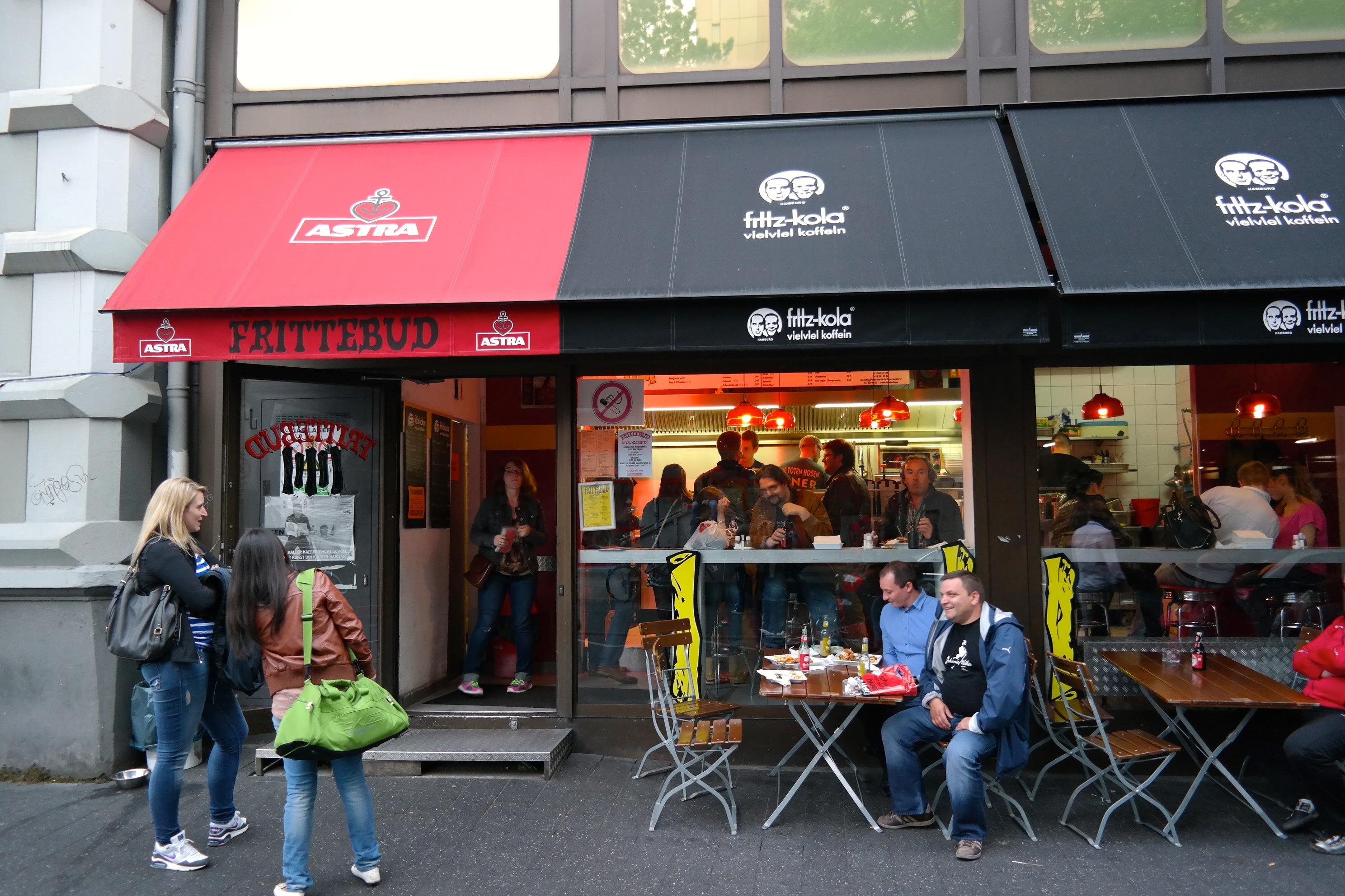 Ganz schön authentische Burger // MissBB ist jetzt Fan von der Frittebud