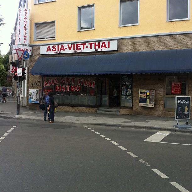 Asiatisch knackig frisch lecker! // Asia-Viet-Thai in der Kölnstraße