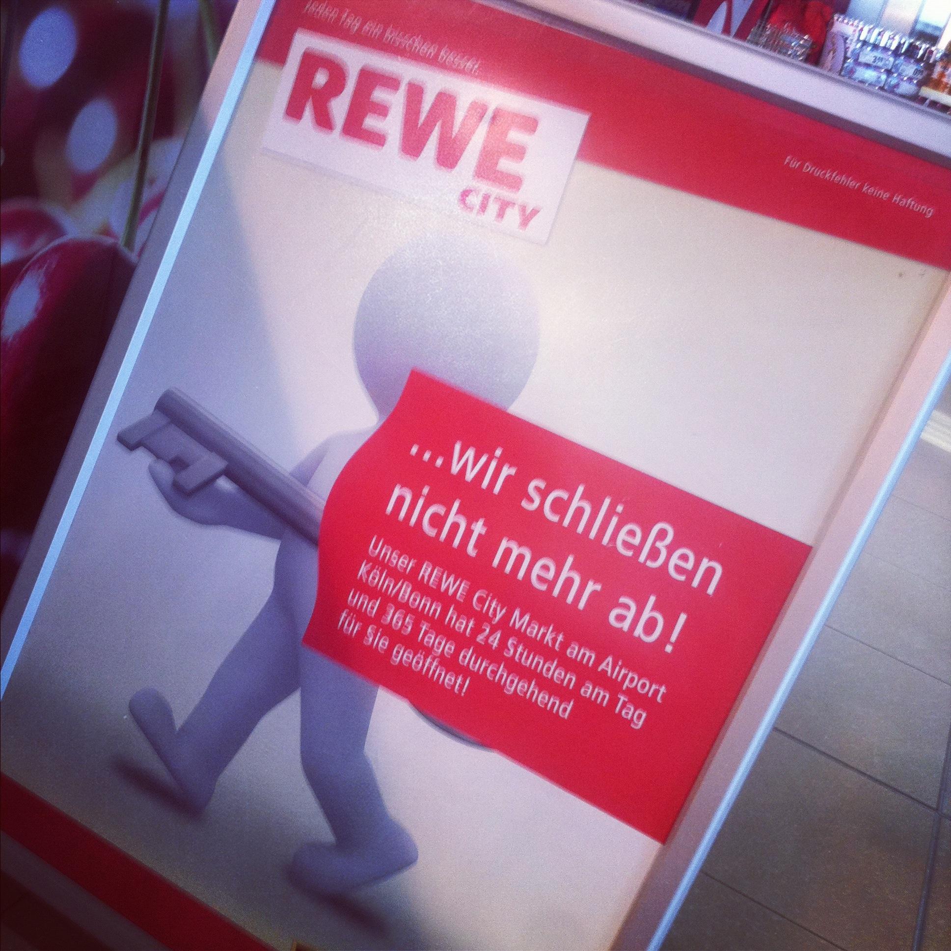 *Sonntagsspontangrillen* ist gerettet! // Rewe City im Flughafen