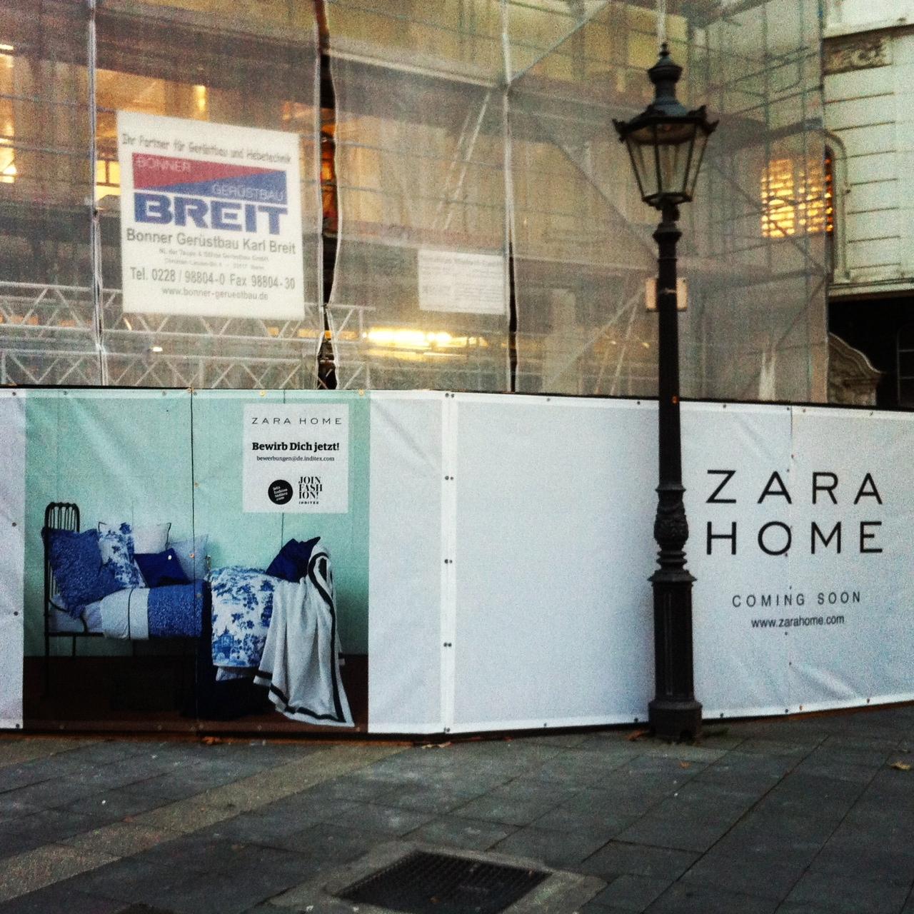 Am Wochenende entdeckt – Bonn vor Köln :) // ZARA Home kommt nach Bonn