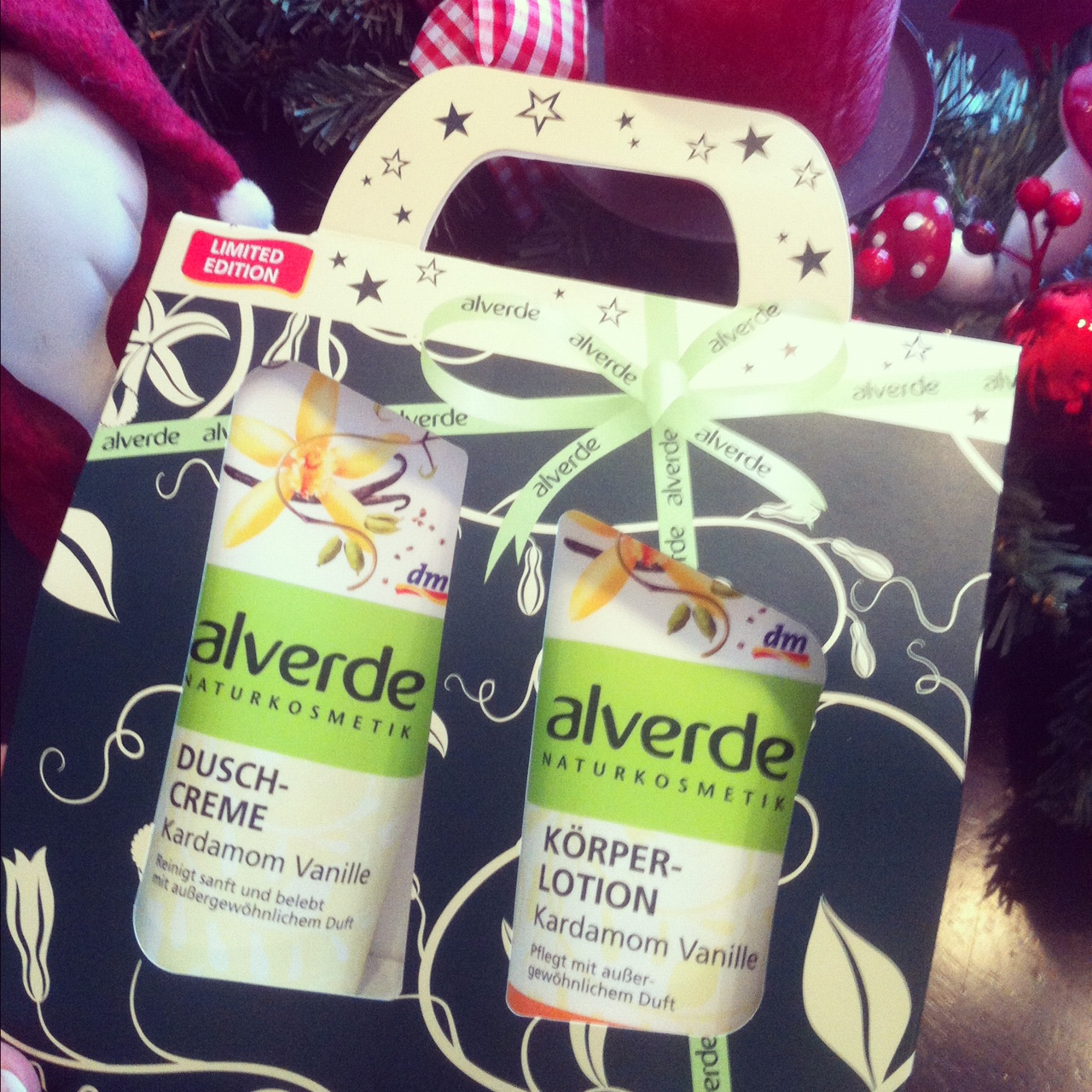 Liiiiieblingsprodukte Kardamon & Vanille // Alverde Limited Edition