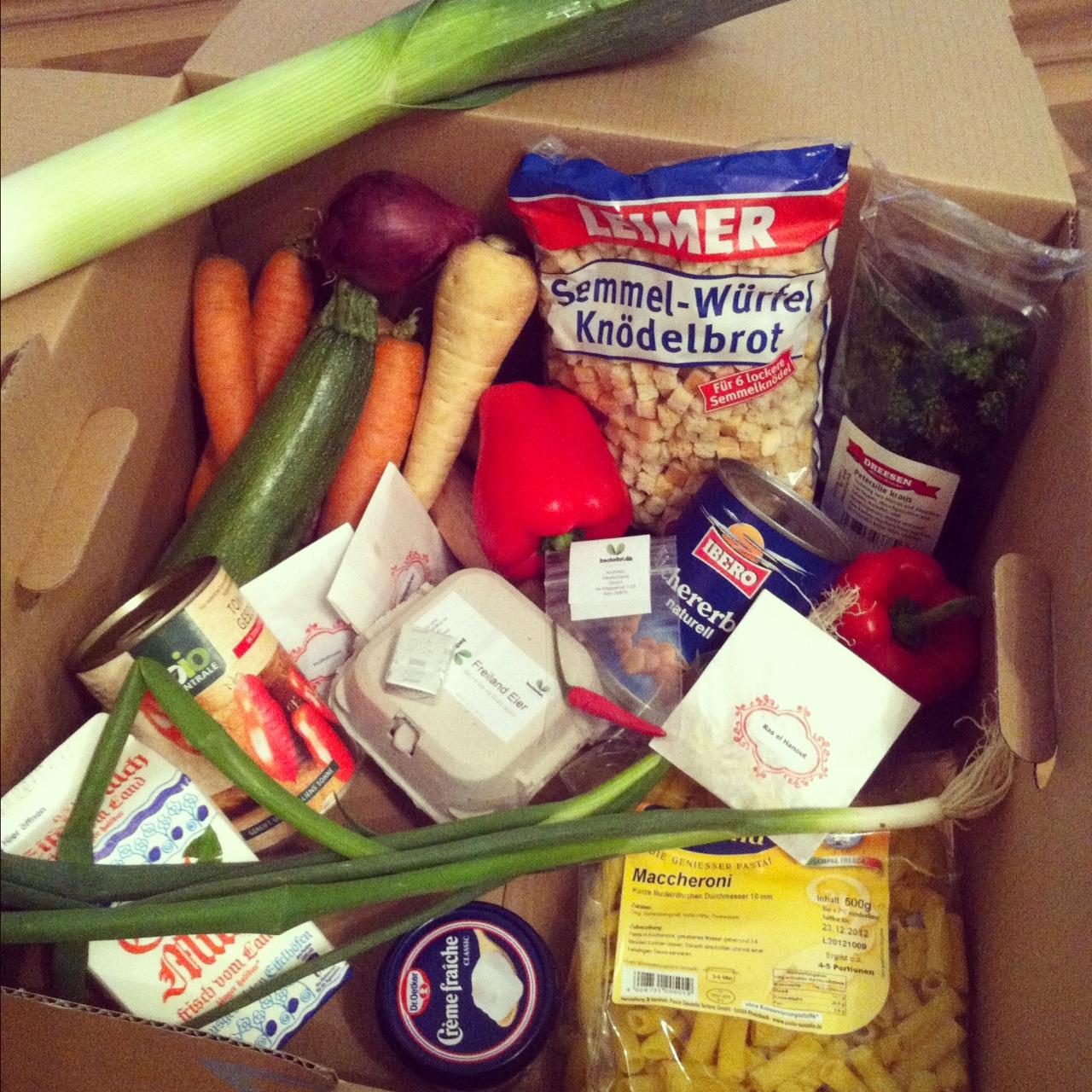 Knackig, frisch und ganz schön kreativ // Die Veggie-Box von KOCHABO.DE