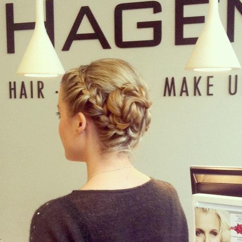 SILVESTER // Meine Partyfrisur 2012 // Von Hagemann Hair & Beauty Bonn