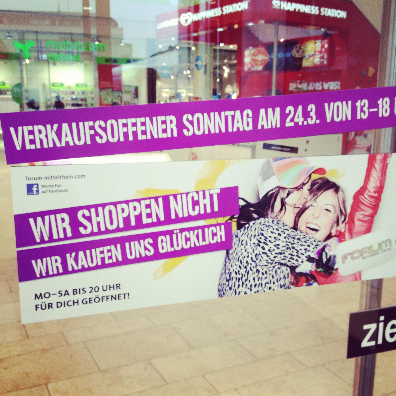 WE LOVE SONNTAGS-SHOPPING // Verkaufsoffen in Koblenz :)