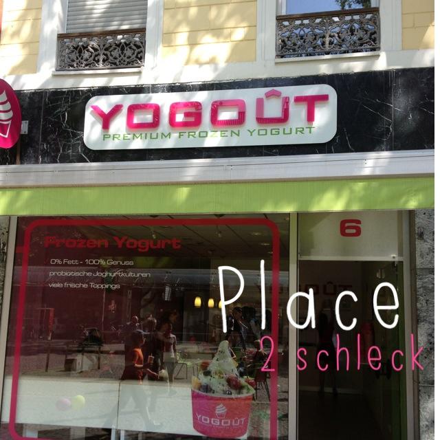 Wir gehen mal Eis shoppen… Frozen Yogurt von Yogout in Bonn