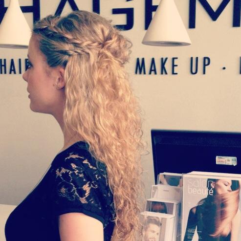 Sommer, Sonne & eine unkomplizierte Frisur zu Hot Pants, Flip Flops & Frozen Yogurt Vanille // von Hair & Beauty Hagemann
