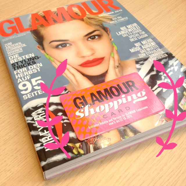 Die Glamour Shopping Week 2013 // Oh yes, so geht shoppen im Oktober