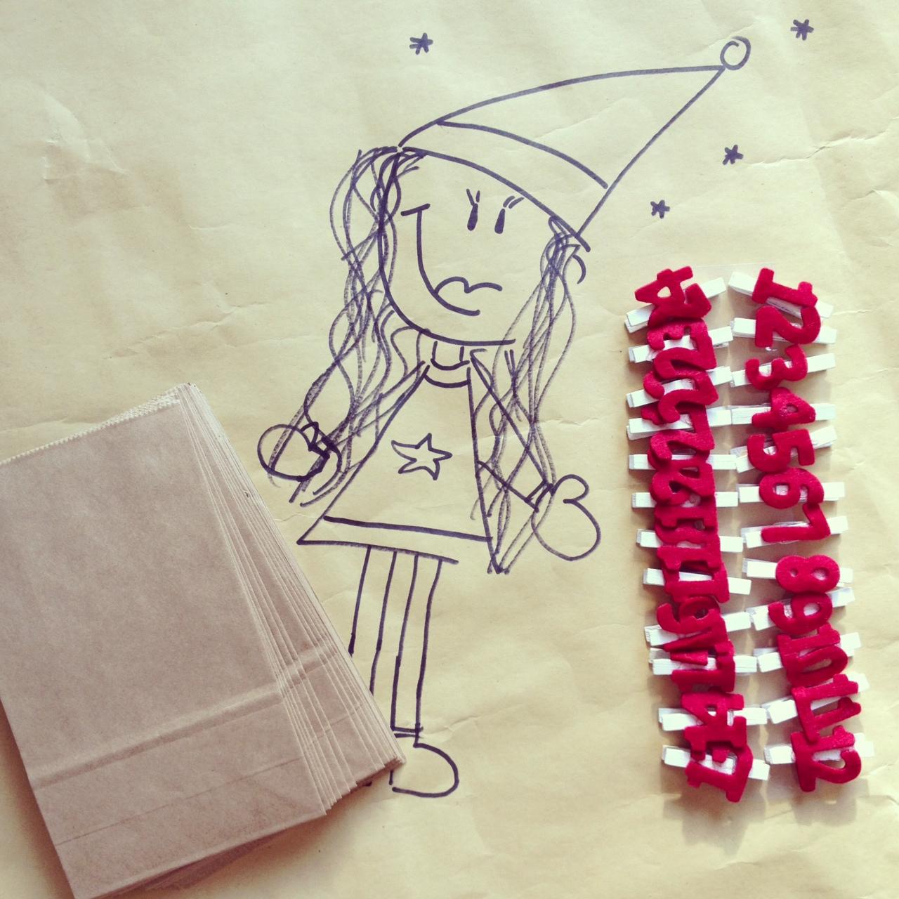 X*MAS 2013… auch MissBB kann DIY (ab und zu :) ) – Advent, Advent… Adventskalender