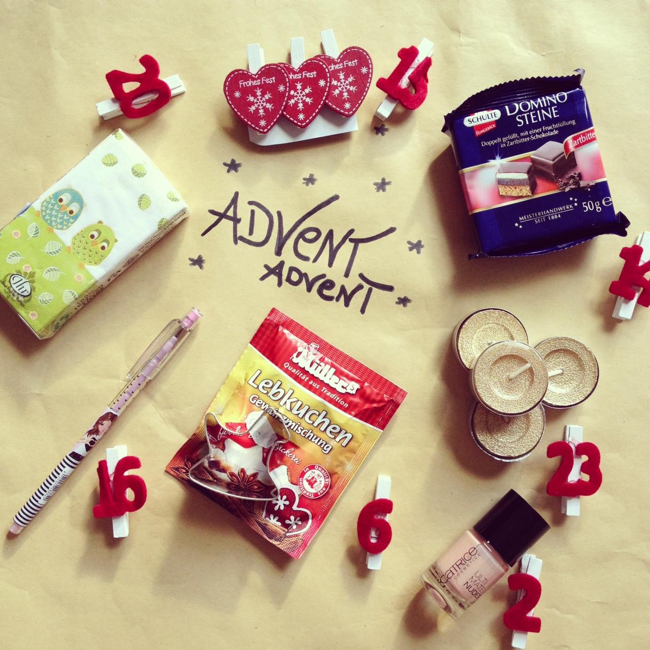 Adventskalender geschenke schwester