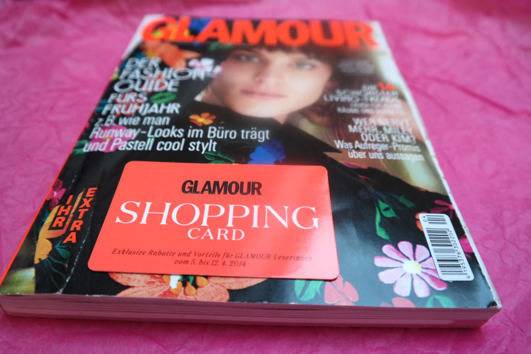 Shoppen, was die pinke Karte verträgt :) // Ab in die City mit der Glamour Shopping Card